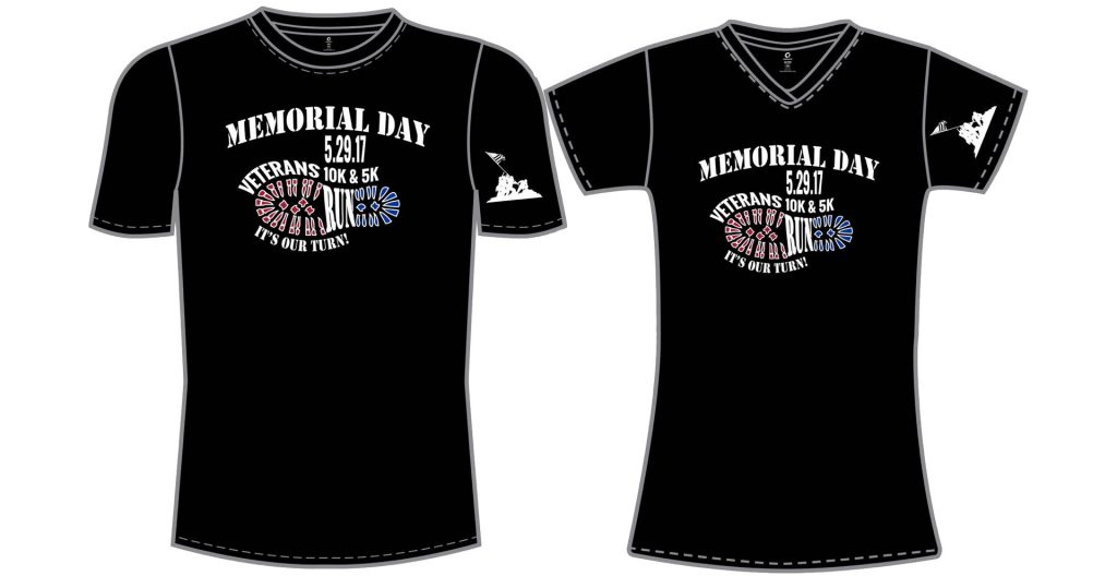 2017 Memorial Day 10k and 5k Shirt