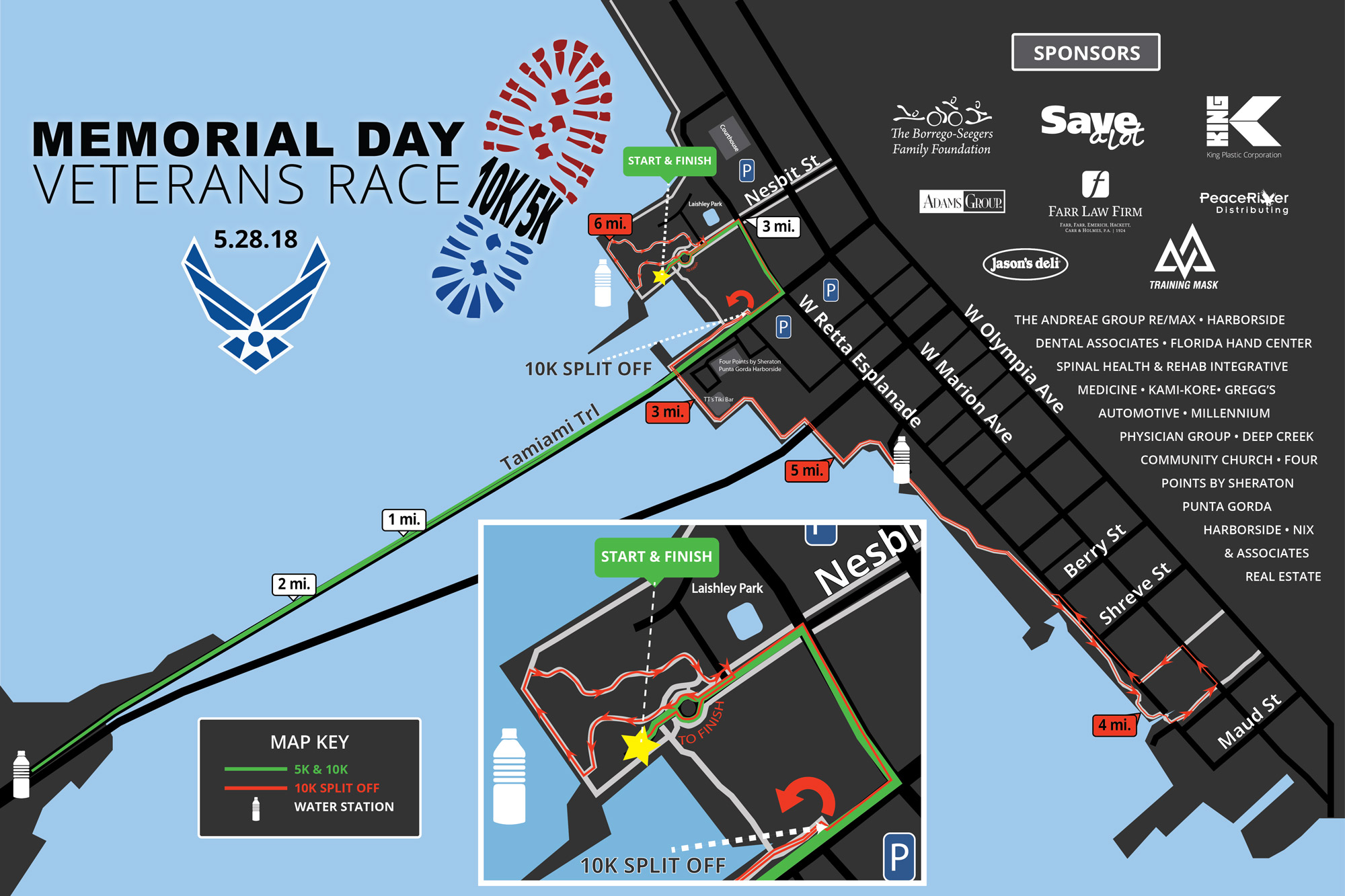 2018 Race Course Map!